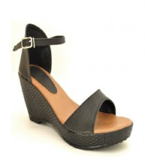 Black Semi-Formal (Office / Evening Wear) Sandals Nic3908bk