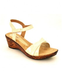Cream Formal/Evening Sandals