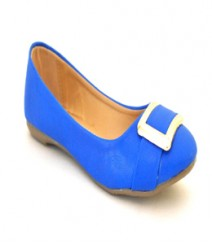 Blue Casual Ballerina Sal1015blu