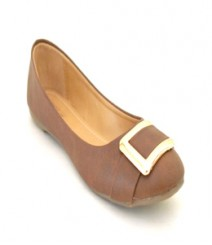 Brown Casual Ballerina Sal1015br