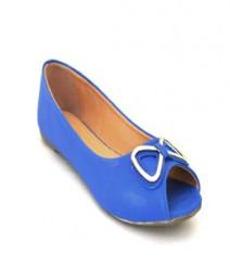 Blue Casual Ballerina Sal1017blu