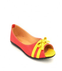 Flat Red/Yellow Peeptoes