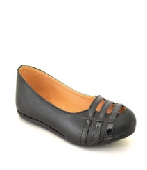 Flat Casual/Daily Loafers Black