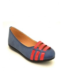 Flat Casual/Daily Ballerinas Blue