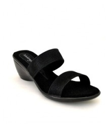 Full Black Formal/Evening Slippers