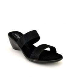 Full Black Formal/Evening Slippers