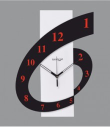 Random Six 'O' Clock Analog Wall Clock RC-0102