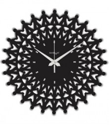Random Web World Harmony Analog Wall Clock RC-0107-H-BLACK