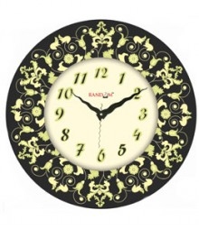 Random Aura Monach Analog Wall Clock RC-0305-M
