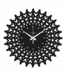 WEB WORLD SERIES Harmony Analog Wall Clock RC-0307-H-Black