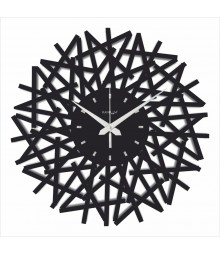 WEB WORLD SERIES Analog Wall Clock RC-0307-Std-black