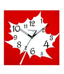 Random Maple Analog Wall Clock RC-0308