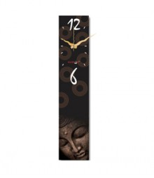 Random Vertical-Buddha Analog Wall Clock RC-0310-BUDDHA