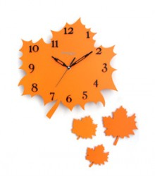 Random Autumn (Set) Analog Wall Clock RC-0316-ORANGE