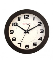 Random Trendy Stylo Analog Wall Clock RC-0329-COFFEE