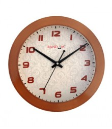 Random Trendy Stylo Analog Wall Clock RC-0329-COPPER