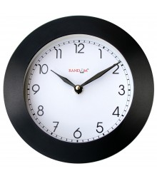 "Wooden Elegant Junior 6"" Analog Wall Clock RC-0339"