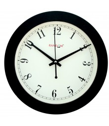 "Wooden Elegant Retro 9"" Analog Wall Clock RC-0340"