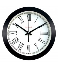 "Wooden Elegant Roman 11"" Analog Wall Clock RC-0341"
