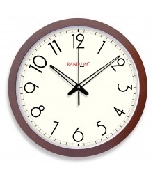 WOODY14 BOLD Analog Wall Clock RC-0358