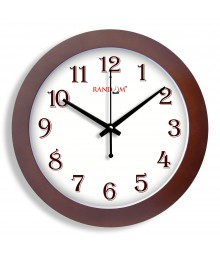 WOODY TRENDY SOBER Analog Wall Clock RC-0361