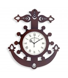 WOODY ANCHOR Analog Wall Clock RC-0362