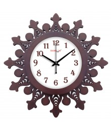 WOODY WAZEER Analog Wall Clock RC-0363