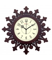 "Woody Wazeer 15"" Analog Wall Clock RC-0371"