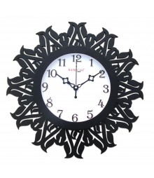 Dynasty Glass Covered Analog Wall Clock RC-0373
