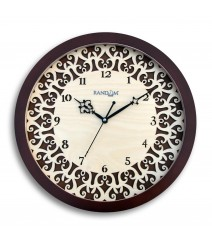 Carvy Delicate Glass Covered Analog Wall Clock RC-0379