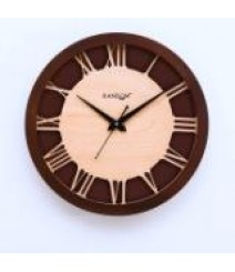 Carvy Roman Glass Covered Analog Wall Clock RC-0383