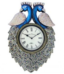 Random Peacock Medium V Analog Wall Clock RC-0411-Medium