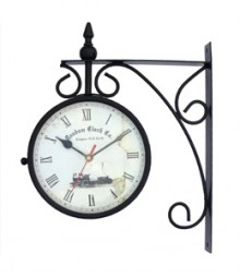 Random Station Clock Analog Wall Clock RC-0413-Large-station-10-Inch