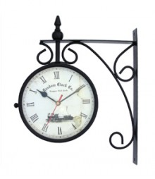 Random Station Clock Analog Wall Clock RC-0413-Sm-Station-6-inch