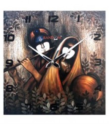 Random Radha Krishna Analog Wall Clock RC-0505