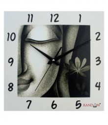 Random Buddha Side Face Analog Wall Clock RC-0507