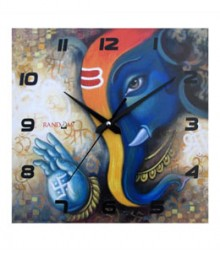 Random Ganesha Analog Wall Clock RC-0508