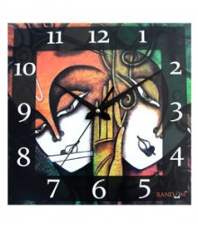 Random Love Couple Analog Wall Clock RC-0509
