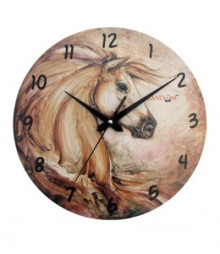Random Horse Analog Wall Clock RC-0511