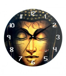 Random Buddha Closeup Analog Wall Clock RC-0513