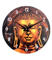 Random Famous Buddha Analog Wall Clock RC-0514