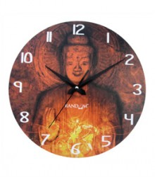 Random Lord Buddha Analog Wall Clock RC-0515