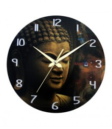 Random Buddha Smile Analog Wall Clock RC-0517