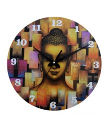 Random Buddha Pray Analog Wall Clock RC-0518