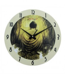 Random Buddha Back Analog Wall Clock RC-0520