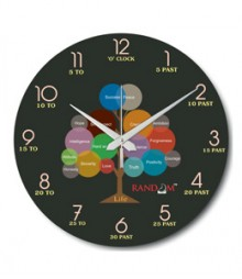 Random Life Tree Analog Wall Clock RC-0531