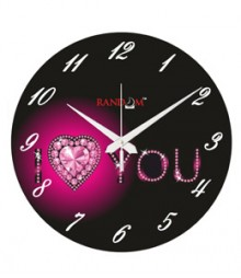 Random Heart Analog Wall Clock RC-0532