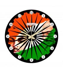 Azadi Ka Tiranga Analog Wall Clock RC-0535-Azadi-Ka-Tiranga