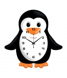 Little Penguin Polymer Analog Wall Clock RC-0540