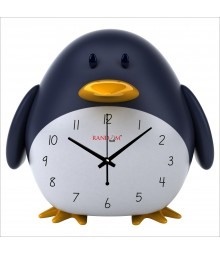 Fatty Penguin Polymer Analog Wall Clock RC-0541